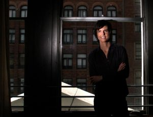Chamberlin, Bob ññ B582416858Z.1 LOS ANGELES, CA ñ OCTOBER 03, 2012: Comedian Tig Notaro at her downtown loft on OCTOBER 03, 2012. She has had an amazing and tragic year with success in her comedy career and the loss of her mother and the discovery of her own cancer. ( Bob Chamberlin / Los Angeles Times )